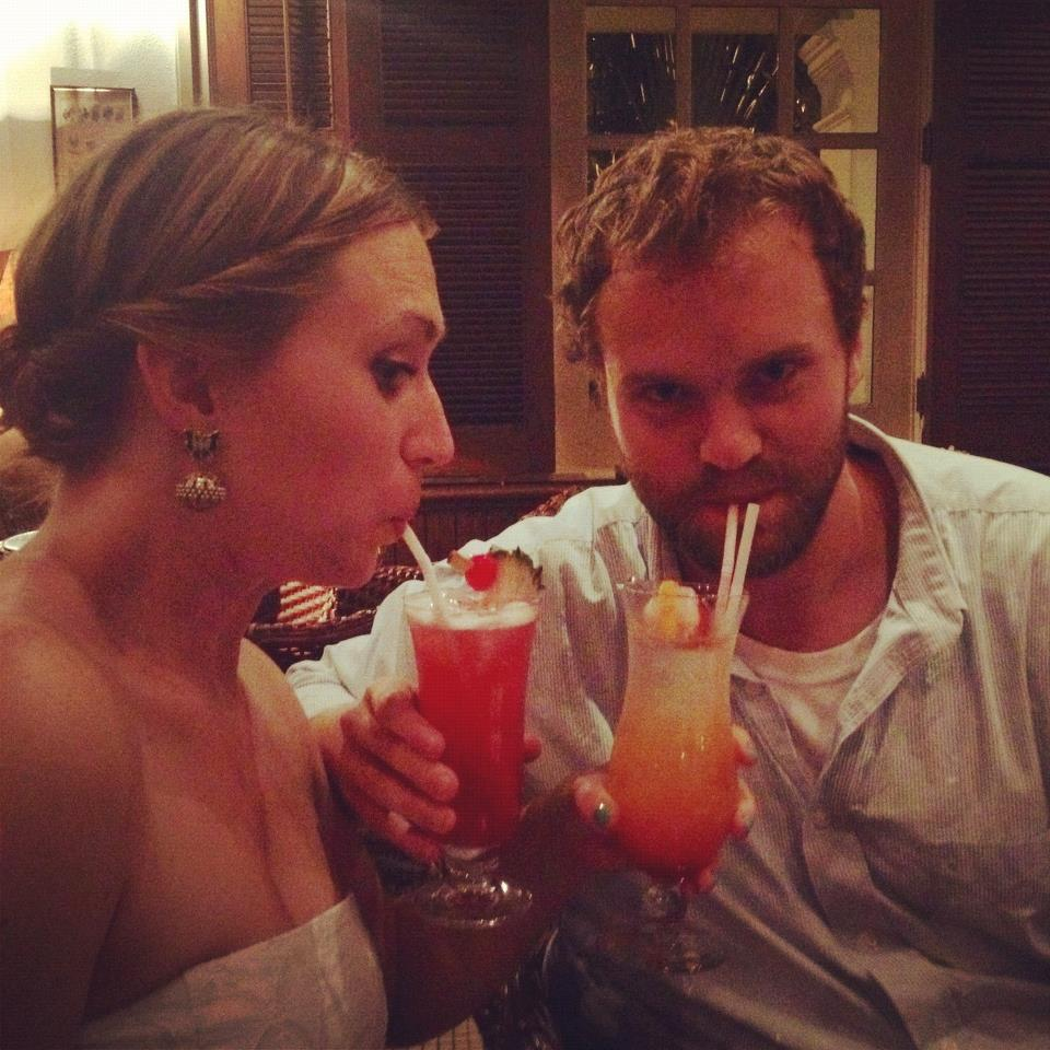Singapore slings at the Raffles Hotel, pre-visa shenanigans!