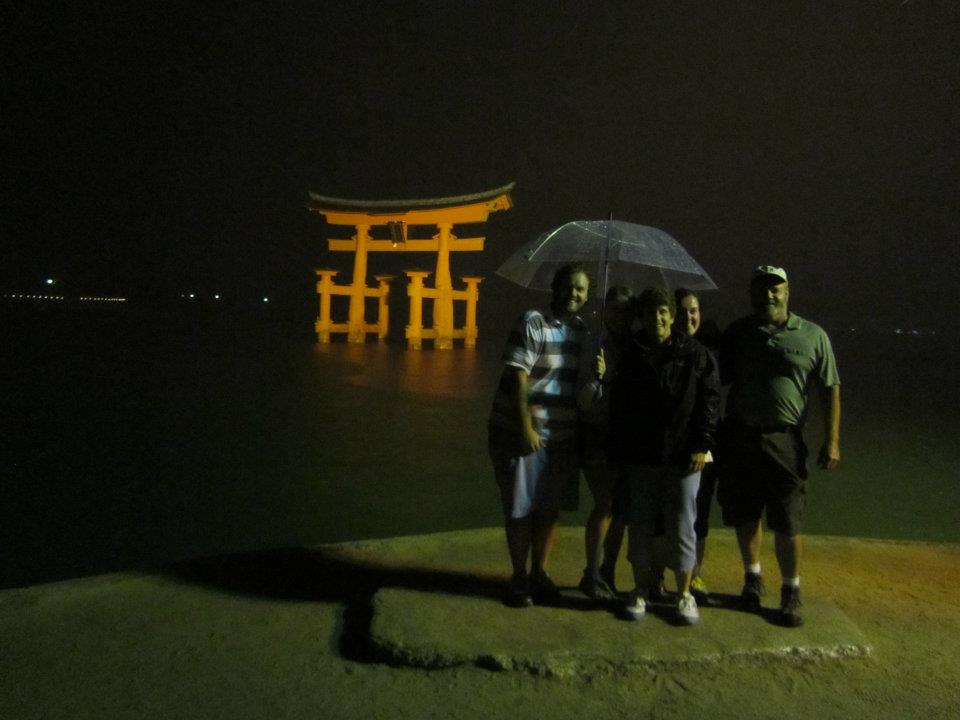 Family in Miyajima