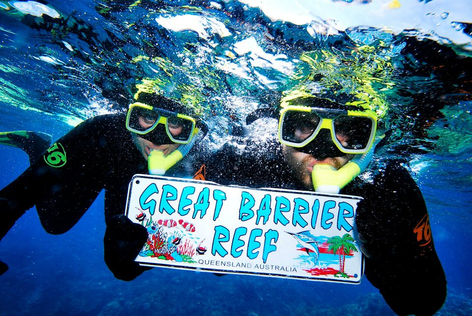 Great Barrier Reef with frequent flyer miles
