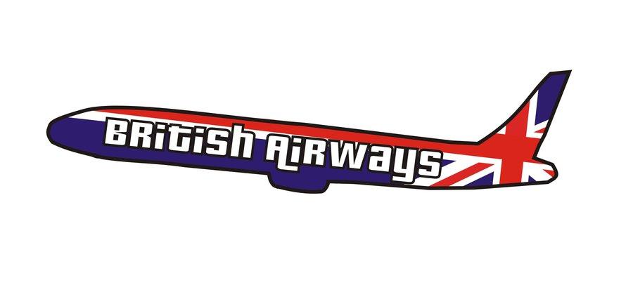 BA Plane Logo