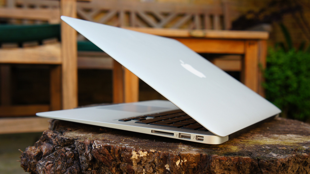 Work from anywhere with you Macbook Air, the world's best travel laptop.