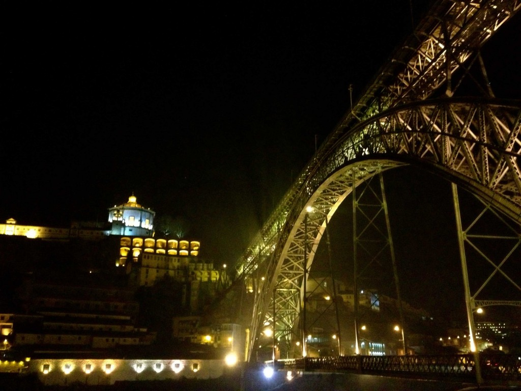 The Dom Luis Bridge in Porto.  Notice the similarities to another famous monument?