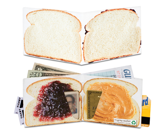 Peanut Butter and Jelly Mighty Wallet