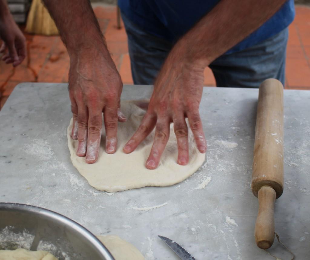 David-making-crust