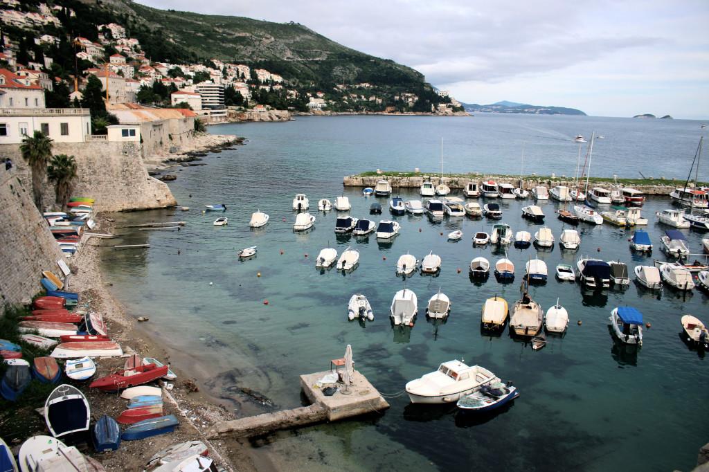 Dubrovnik-Boats-in-Harbor